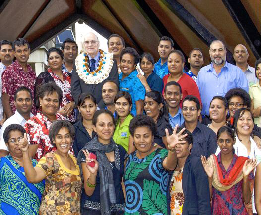 2012 Fiji Business Excellence Award Evaluator Training - Paul Steel