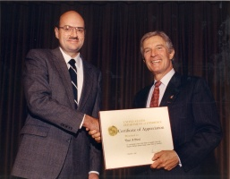 1990 Commerce Secretary Robert Mosbacher and Paul Steel